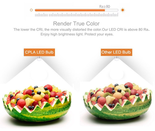 cpla lighting bombillas led globo para ventilador de techo v