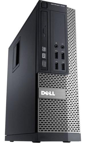 cpu + 2 monitores dell optiplex core i5 8gb 500gb - novo