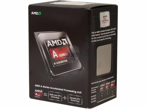 cpu amd a6-6400 4.1ghz 4gb 320hd hdmi/ vga  nuevo