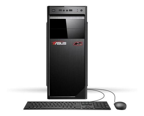 cpu asus i5 3.10ghz ram 4gb hd 1tb+monitor 23+teclado/mouse