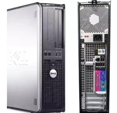 cpu completa dell core 2 duo 4gb hd 160 + monitor 15