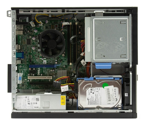 cpu completa dell core i3 (i3-2100) 3.1ghz 4gb ddr3 250gb