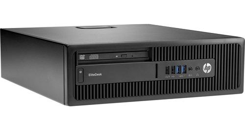 cpu computador hp elitedesk core i5 6500 4gb 500gb - novo