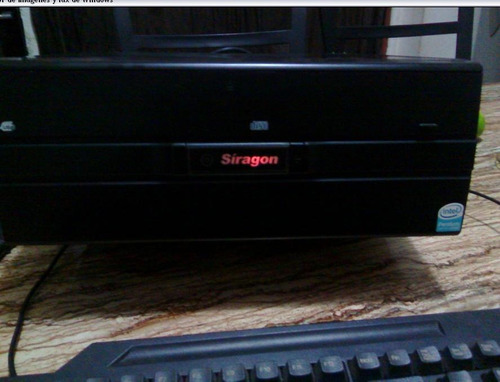 cpu computador siragon original desktop - perfecto estado