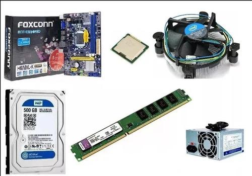 cpu computadora core i3 (500gb disco + 4gb ram) pc nuevo