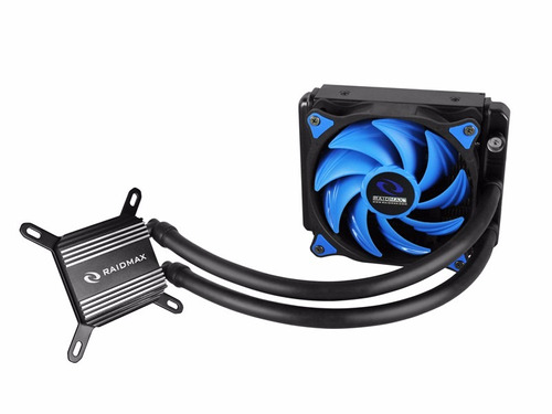 cpu cooler liquido raidmax cobra 120 para intel amd liquida