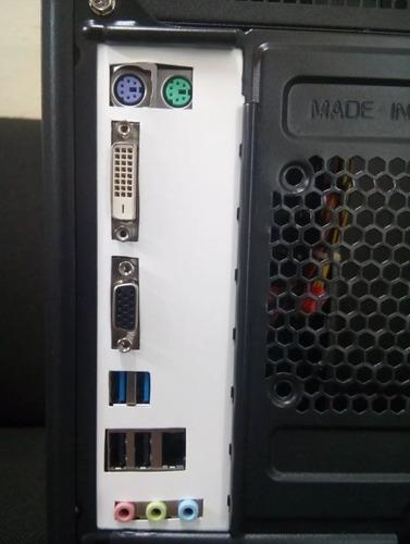 cpu core i3 4150-3.50ghz-8gb ram-hd 500gb-fonte 500w-w10 pro