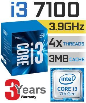 cpu core i3 7100 3.9ghz septima,8gb,2tb,hdmi,gamer