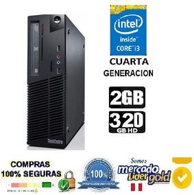Cpu Core I3 Cuarta Generacion Ram 2 Gb Disco 320 Gb Lenovo