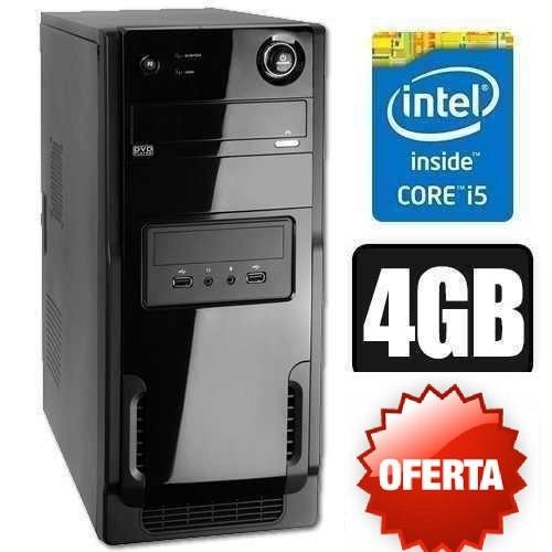 cpu core i5 3.2ghz 4gb 500gb novo c/ wifi! gamer, photoshop