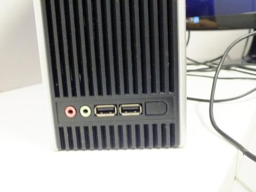 cpu core2duo e7400 / positivo /hd 300gb / memória 2gb ddr2
