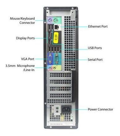cpu dell 7010 i7 3ªg ram 4gb 320gb wifi