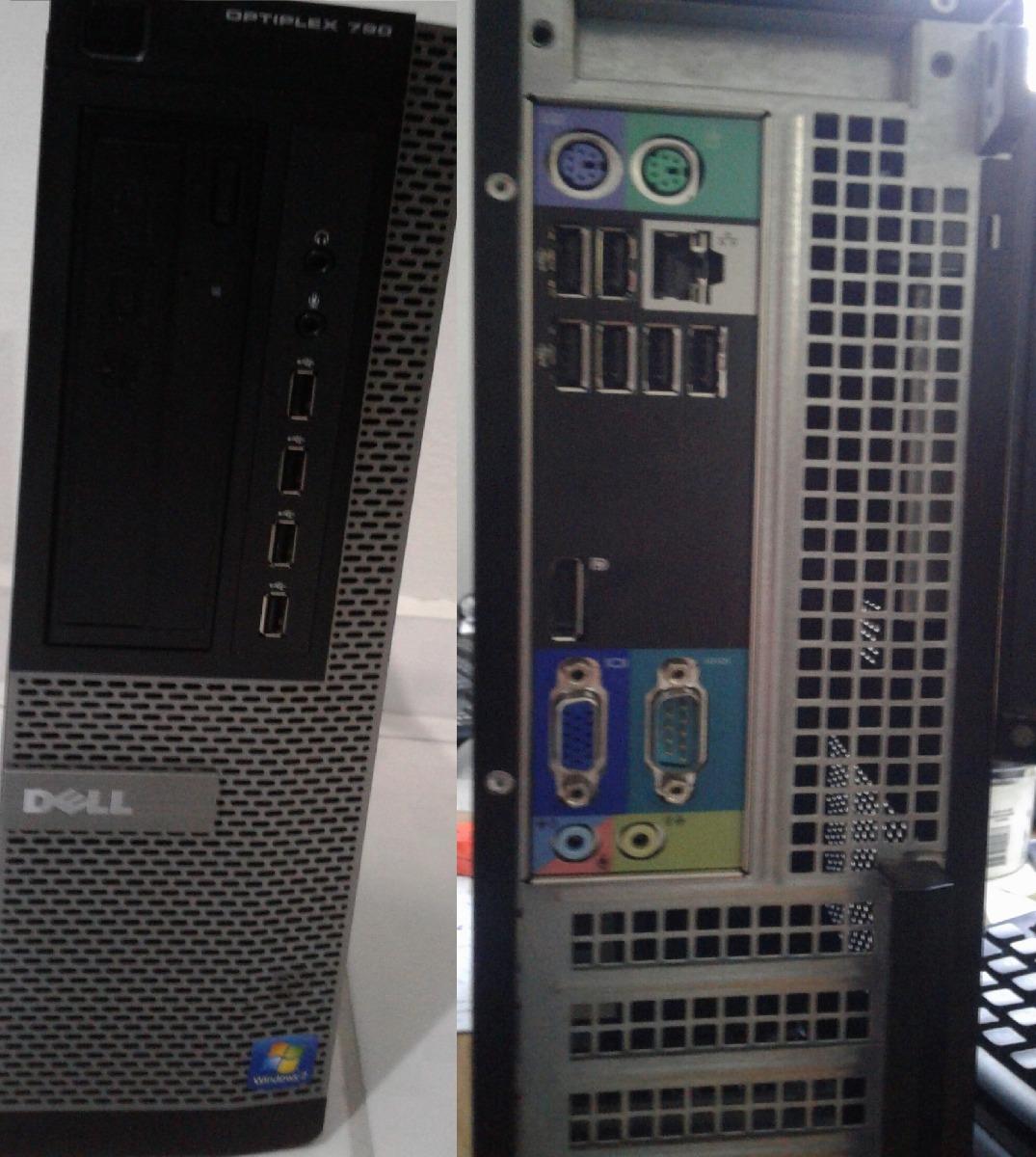 Cpu Dell 790 Core I5 - 2400 3 1ghz Mem 8gb Ddr3 Hd 500gb