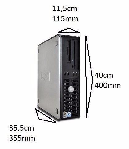 cpu dell mini optiplex 320 dual 2gb hd 80gb dvd wifi