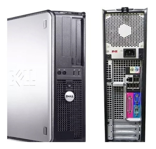 cpu dell mini optiplex core 2 duo 4gb hd 500 + teclado e mouse