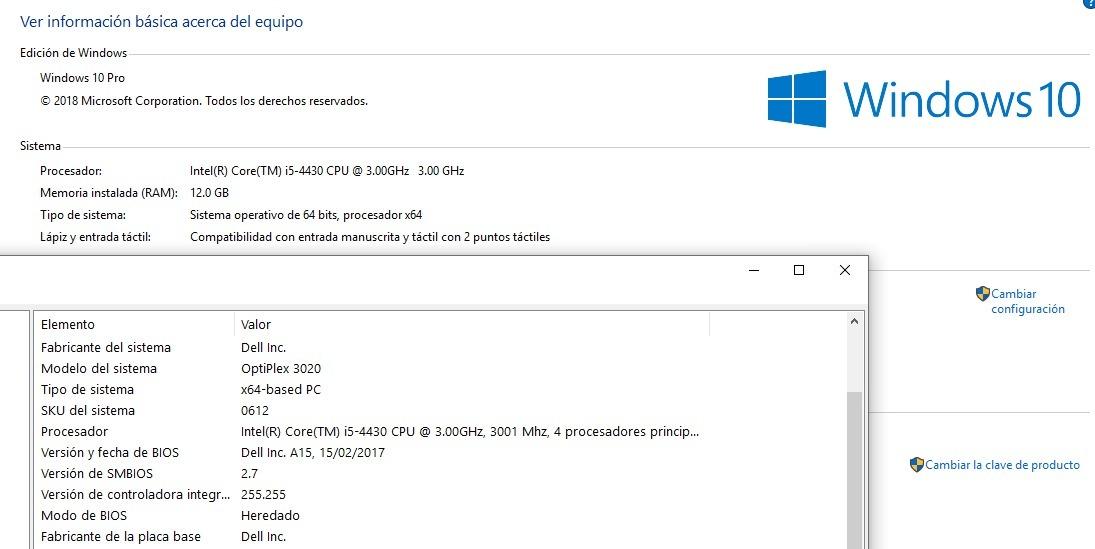 Cpu Dell Optiplex 3020 Core I5 - 9 6 - ¡¡regalo Lcd 15 !!