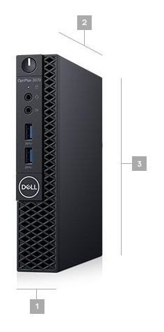cpu dell optiplex 3070 mff / ci5 /8gb/1tb/ w10 pro
