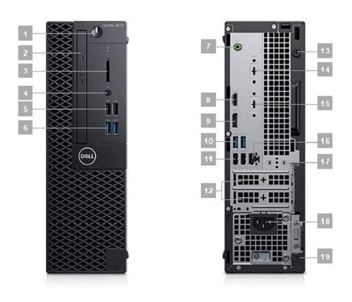 cpu dell optiplex 3070 / sff/ core i5 / 8gb / 1tb/ win10 pro