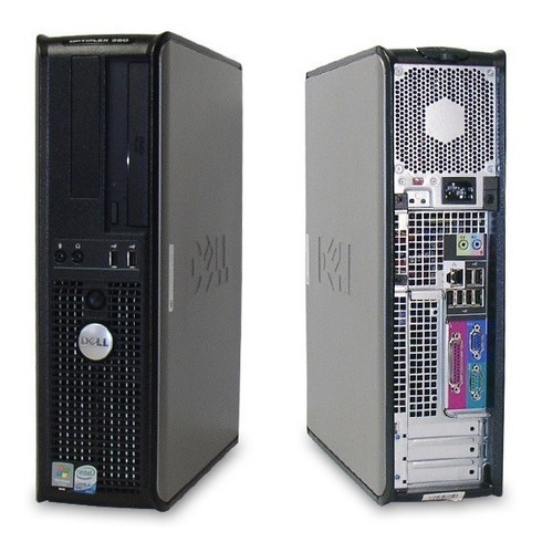 cpu dell optiplex 380 core 2 duo 2,9ghz 4gb ddr3 hd 160gb pc