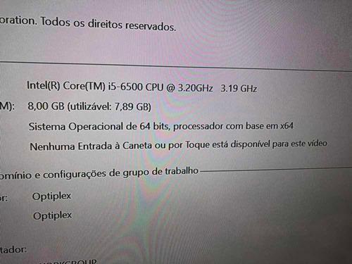 cpu dell optiplex 7040 intel i5 ssd 1.6tb 8gb ram windows 10