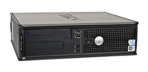cpu dell optiplex 755 desktop core 2 duo 4gb hd 160gb dvd