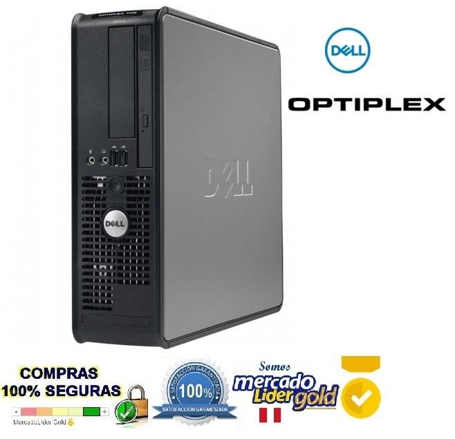 Cpu Dell Optiplex 760 Core 2 Duo E7400/2 8ghz/2gb /500gb - S/ 200,00