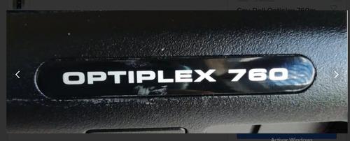 cpu dell optiplex 760 ddr2 core 2 duo sin disco ni memoria