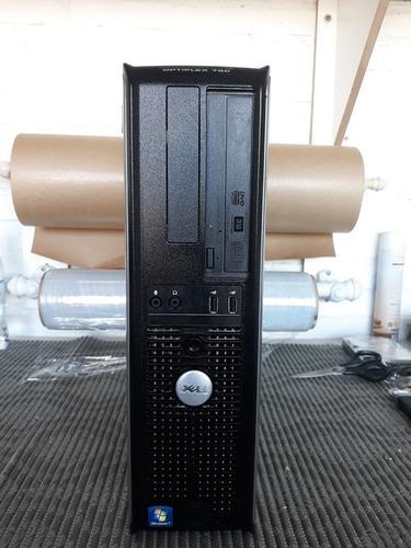 cpu dell optiplex 780 core2duo e8400 4gb ddr3 hd 500 gb win