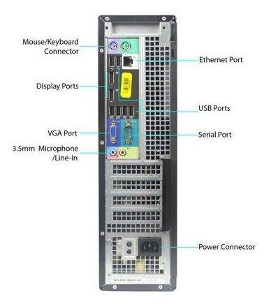 cpu dell optiplex 790 i5 2ª ger 8gb hd 1tb rw wifi