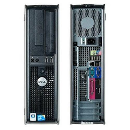 cpu dell optiplex core 2 duo 2gb hd 80gb computador