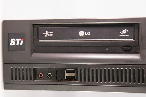 cpu desktop computador toshiba core i5 3.2 4gb 320 hd win7