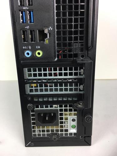 cpu desktop dell optiplex 3020 i3 + monitor + teclado + nf