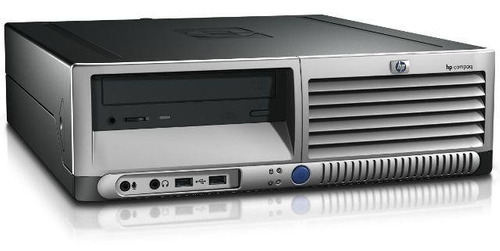 cpu desktop hp dc7600 pentium 4 1gb hd 80gb leitor dvd