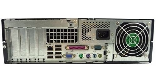 cpu desktop hp dc7600 pentium 4 3gb hd 80gb leitor dvd