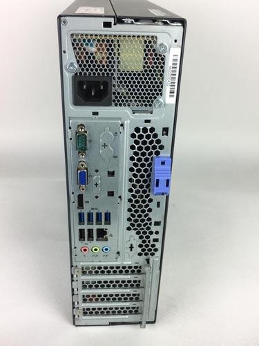 cpu desktop lenovo m92p i5 4gb ram 500gb - com garantia