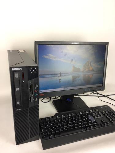 cpu desktop lenovo m92p i5 8gb ram 500gb + monitor +teclado