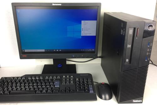 cpu desktop lenovo m93p i5 8gb ram 500gb + monitor