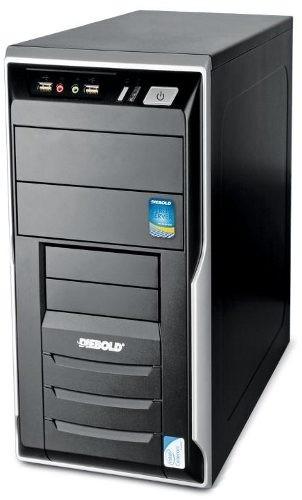 cpu diebold intel core 2 duo 2gb hd 500gb wifi com garantia