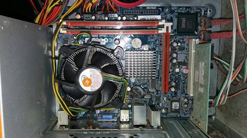 cpu dual core 4gb 500gb hd - não liga (placa-mãe)