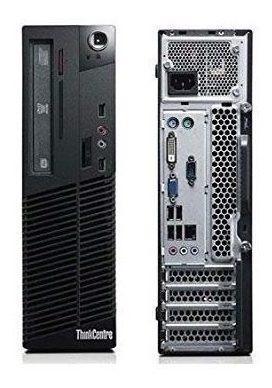 cpu empresarial hp/ lenovo desk, core i5 4gb, 500gb,dvd+rw,