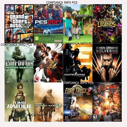 cpu gamer+ 50 jogos  memoria 8gb hd 500 gb video 2gb