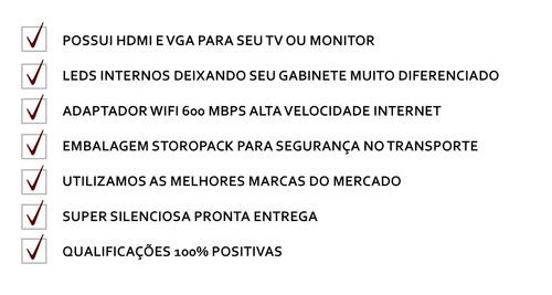 cpu gamer amd a4 4000/ 500 gb/ 4gb/ hd 7480d wifi gratis