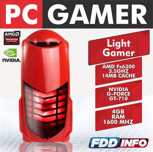cpu gamer amd fx-6300 3.5 ghz 14mb 4gb gforce gt710 gta v!