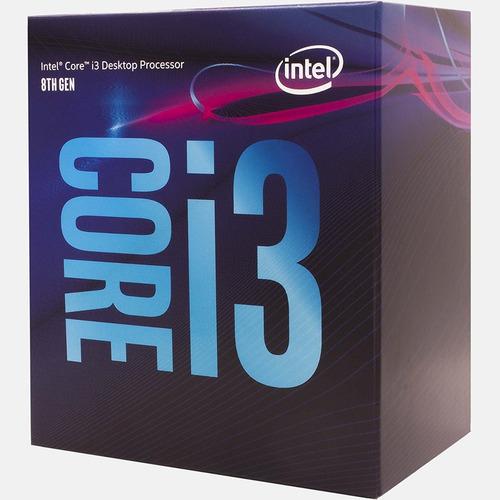 cpu gamer arquitectura nueva era i3 8100 ddr4 8gb ssd 240gb