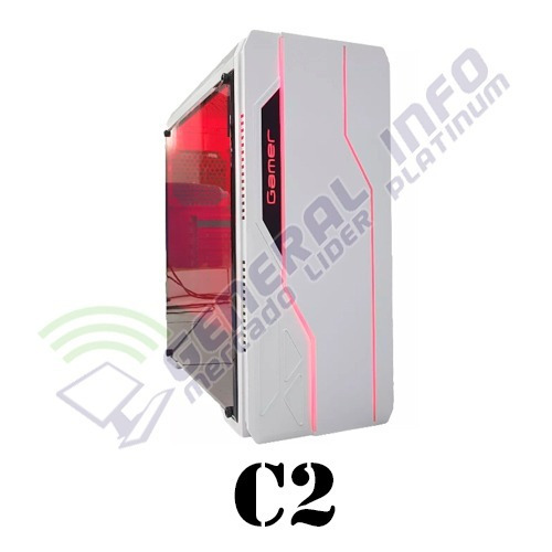 cpu gamer asus/ core i3 7100/ 8gb ddr4/ 1tb/ led/ hd630 2gb