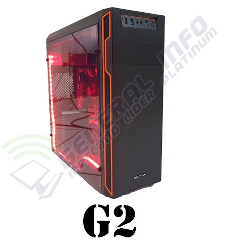 cpu gamer asus/ core i5 7400/ 16gb ddr4/ 1tb/ led/gtx 1060 3