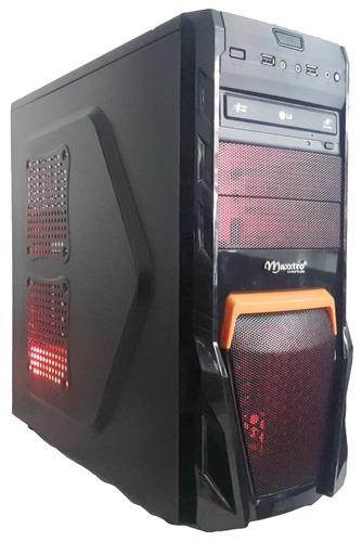 cpu gamer asus/ core i5 7400/ 16gb ddr4/ hd 2tb/2x ssd480