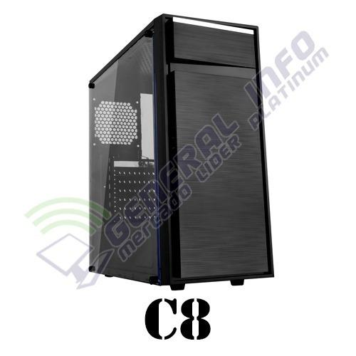 cpu gamer asus/ core i5 7400/ 8gb ddr4/ 1tb/ led/ gtx 1060