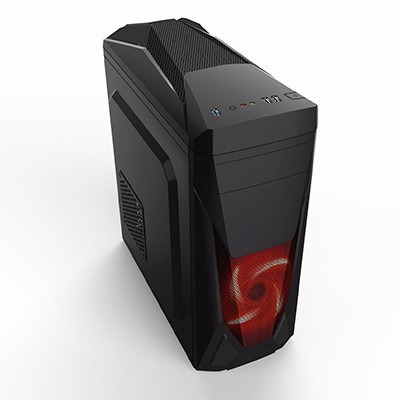 cpu gamer asus/core i5 7400/ 16gb ddr4/ ssd 240/ radeon 2gb