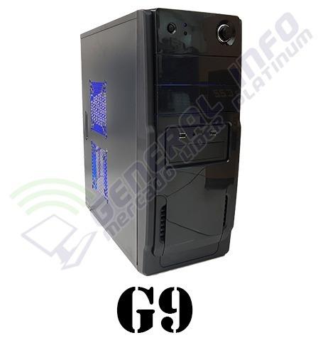 cpu gamer asus/core i5 7400/ 8gb ddr4/ 1tb/ led/ gtx1050 4gb